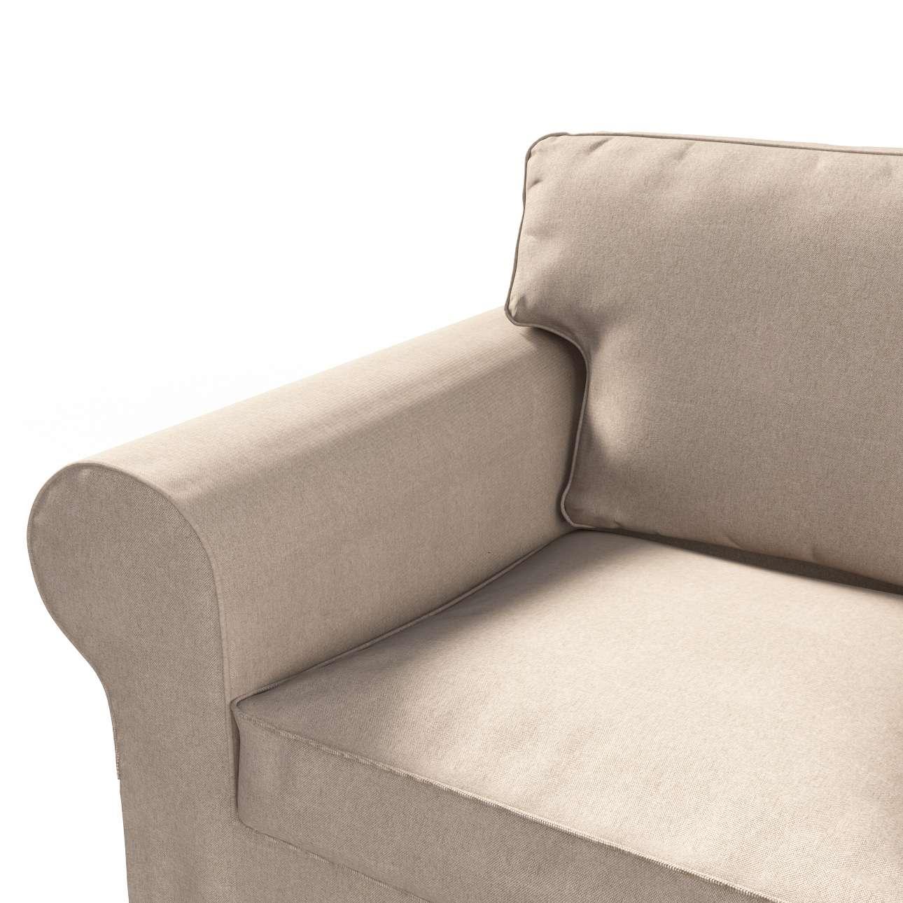 Pokrowiec na sofę Ektorp 2-osobową, rozkładaną STARY MODEL Sofa Ektorp 2-osobowa rozkładana w kolekcji Etna , tkanina: 705-09