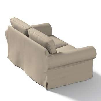 Pokrowiec na sofę Ektorp 2-osobową, rozkładaną, model do 2012 w kolekcji Cotton Panama, tkanina: 702-28
