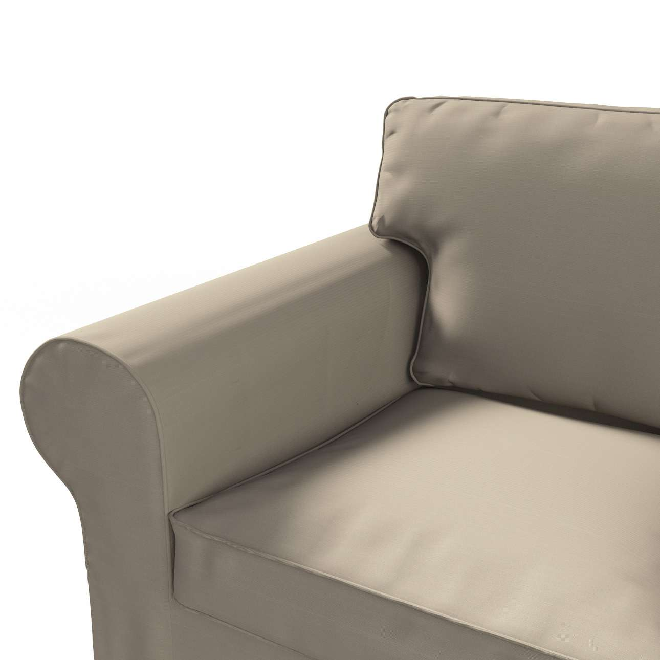 Ektorp betræk 2 sæder sovesofa gammel model<br/>Bredde ca 195cm fra kollektionen Cotton Panama, Stof: 702-28