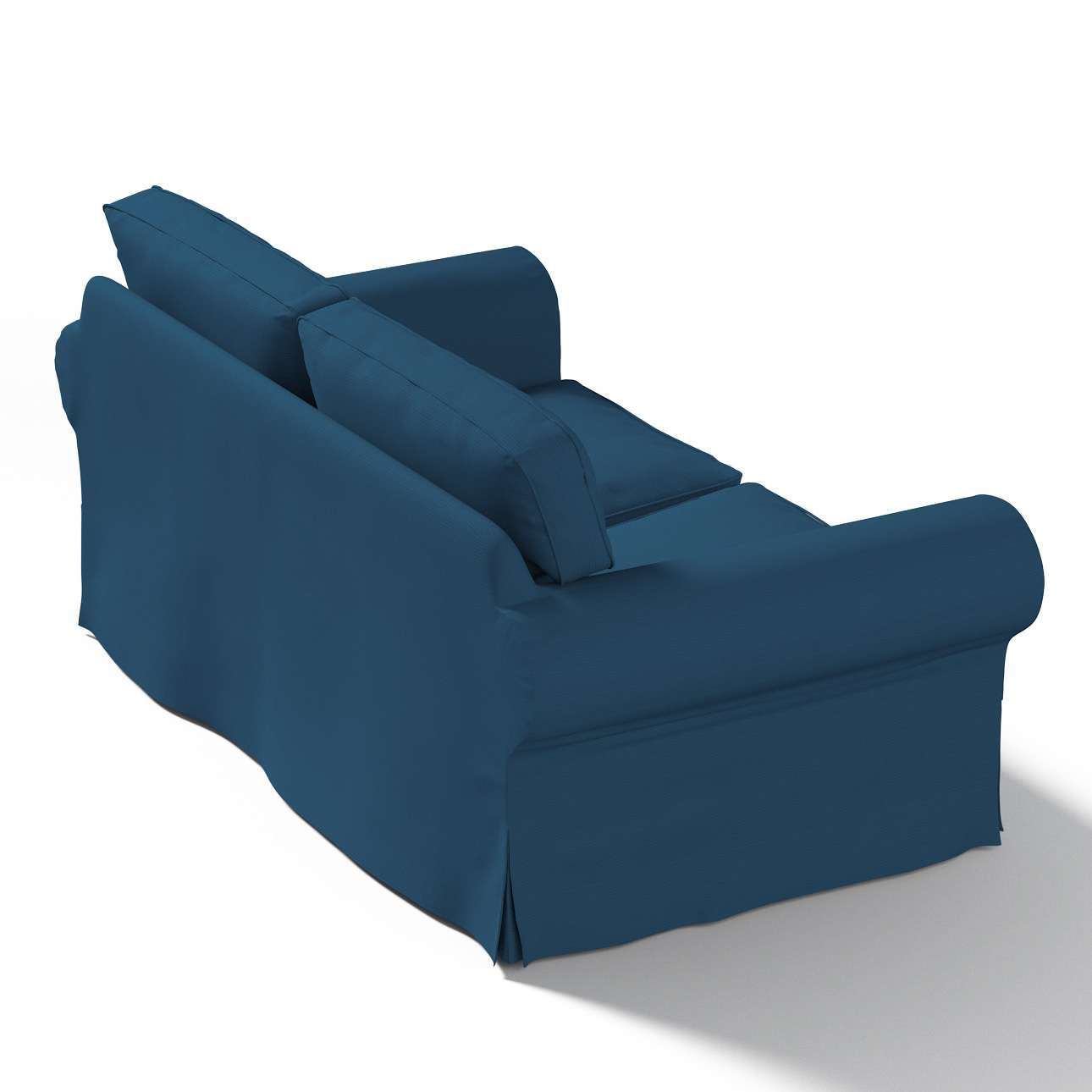 Pokrowiec na sofę Ektorp 2-osobową, rozkładaną STARY MODEL Sofa Ektorp 2-osobowa rozkładana w kolekcji Cotton Panama, tkanina: 702-30