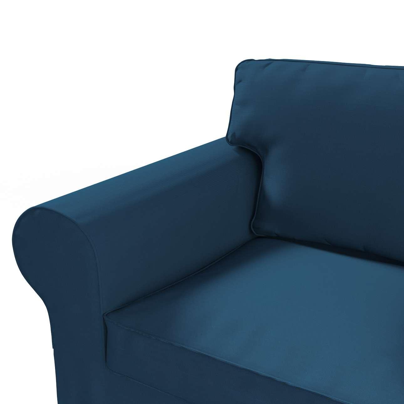 Ektorp 2 sæder sovesofa gammel model<br/>Bredde ca 195cm Betræk uden sofa fra kollektionen Cotton Panama, Stof: 702-30