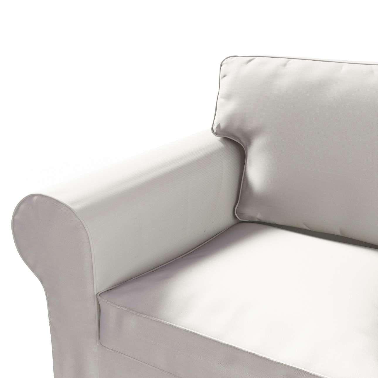 Ektorp 2 sæder sovesofa gammel model<br/>Bredde ca 195cm Betræk uden sofa fra kollektionen Cotton Panama, Stof: 702-31
