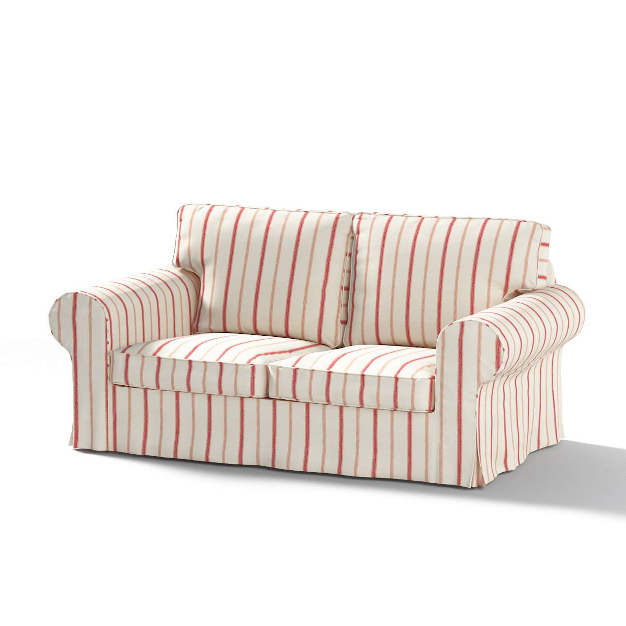 Ektorp 2 sæder sovesofa gammel model<br/>Bredde ca 195cm Betræk uden sofa fra kollektionen Avinon, Stof: 129-15