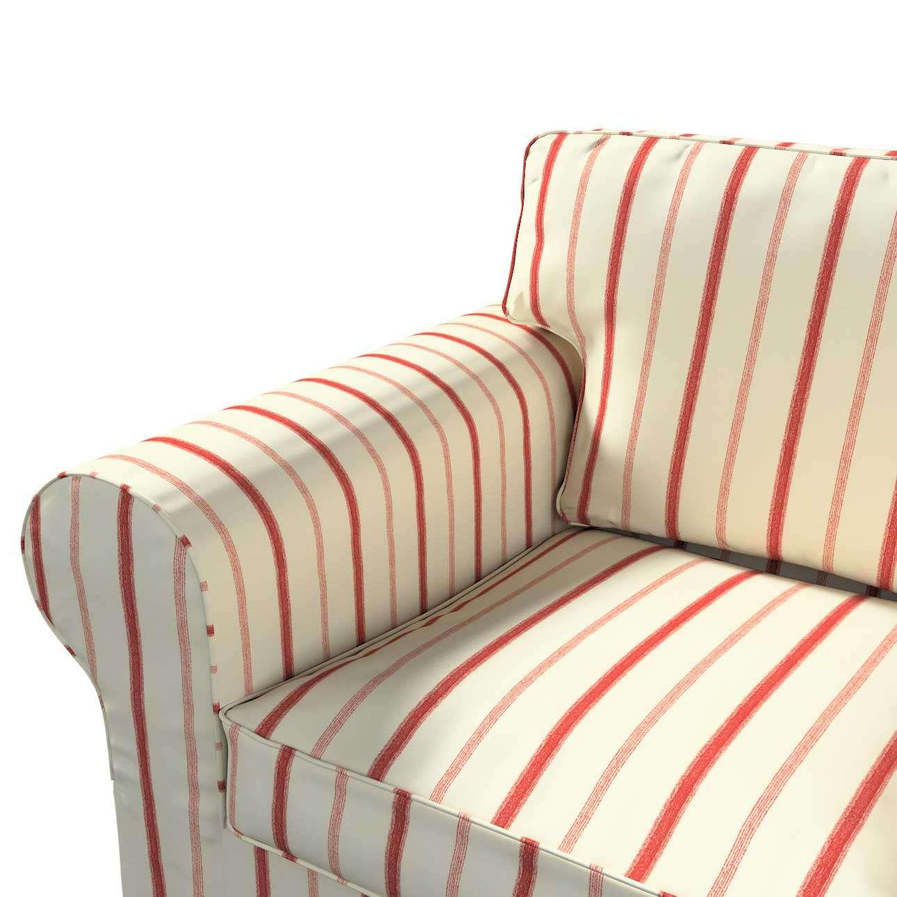 Pokrowiec na sofę Ektorp 2-osobową, rozkładaną STARY MODEL Sofa Ektorp 2-osobowa rozkładana w kolekcji Avinon, tkanina: 129-15