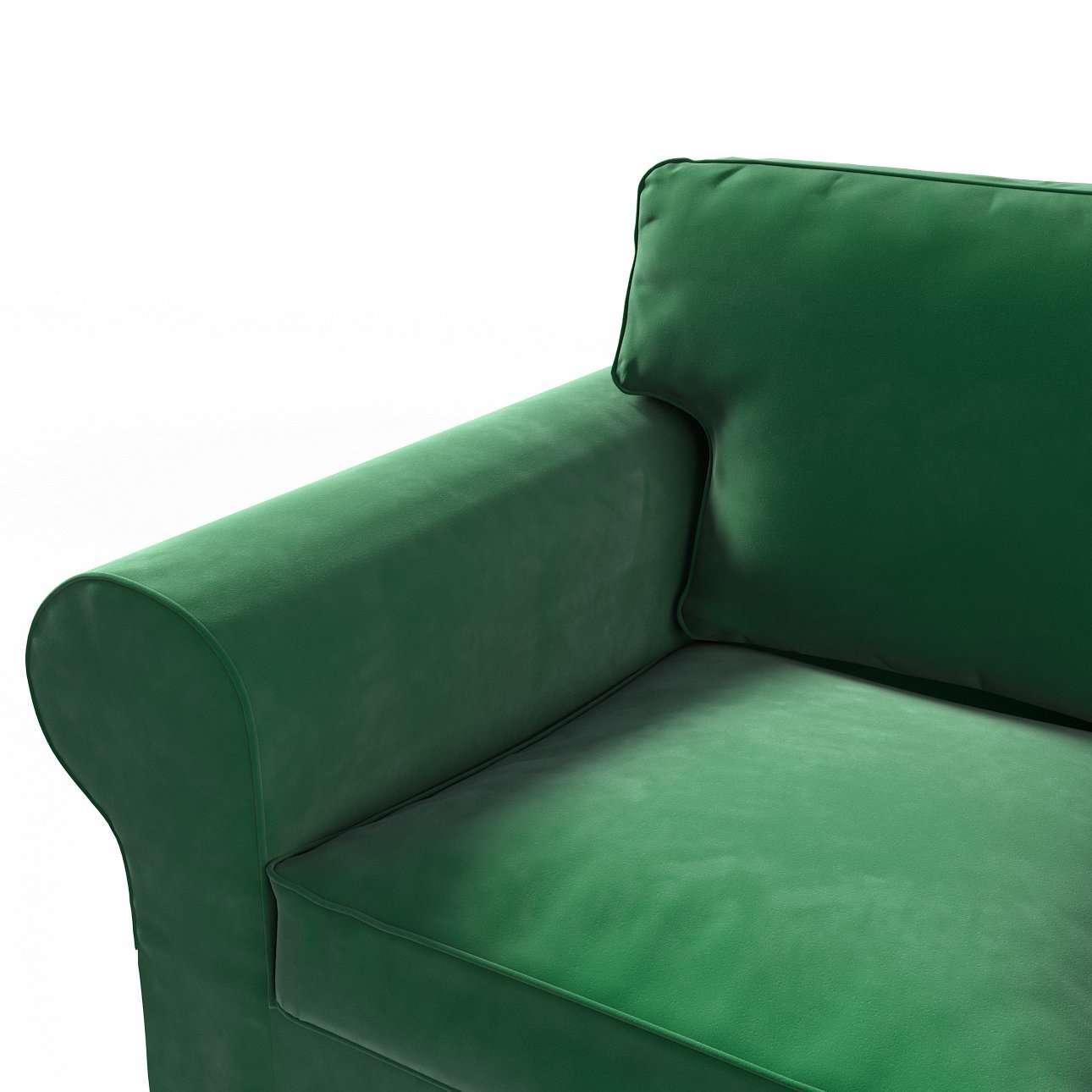 Pokrowiec na sofę Ektorp 2-osobową, rozkładaną, model do 2012 w kolekcji Velvet, tkanina: 704-13