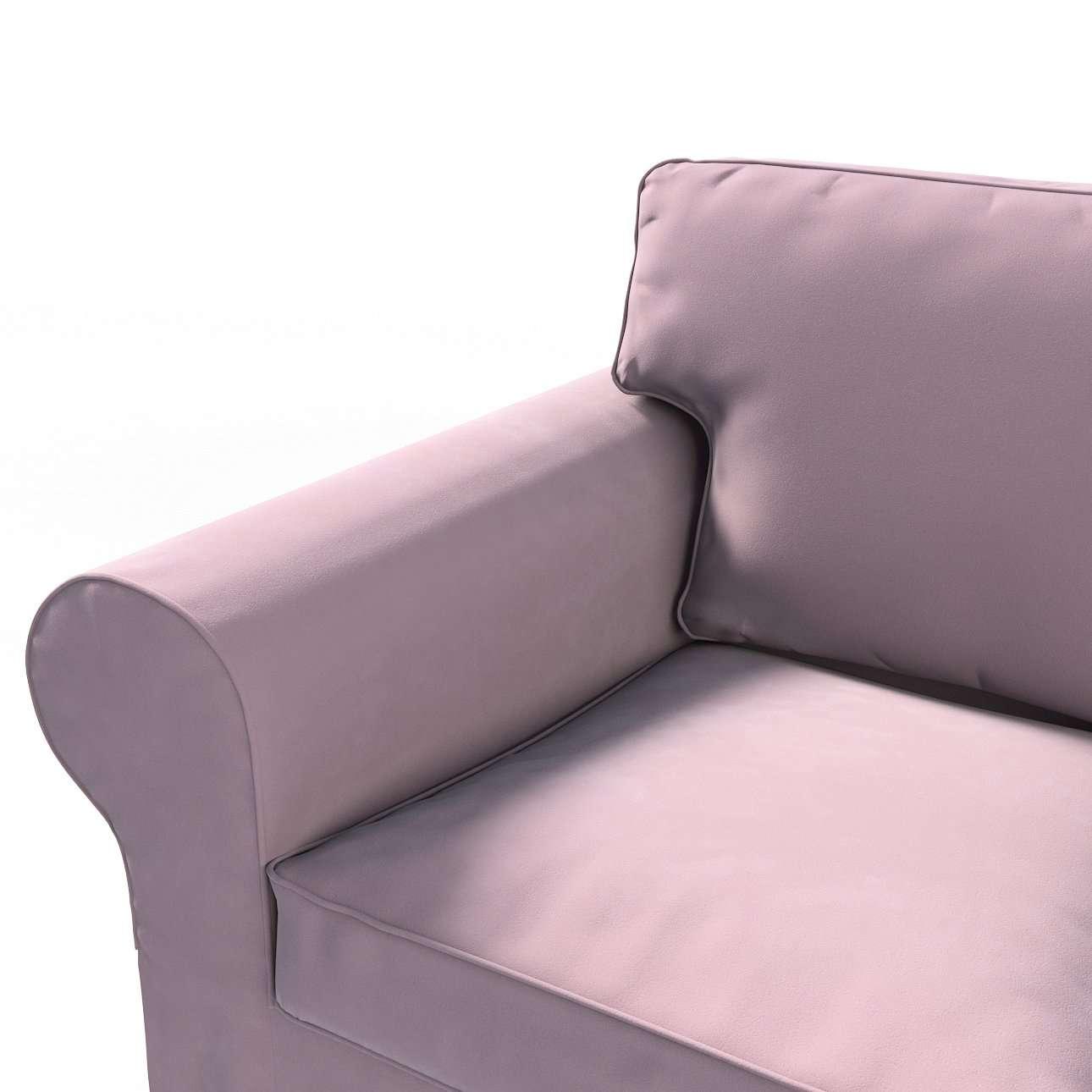 Pokrowiec na sofę Ektorp 2-osobową, rozkładaną, model do 2012 w kolekcji Velvet, tkanina: 704-14