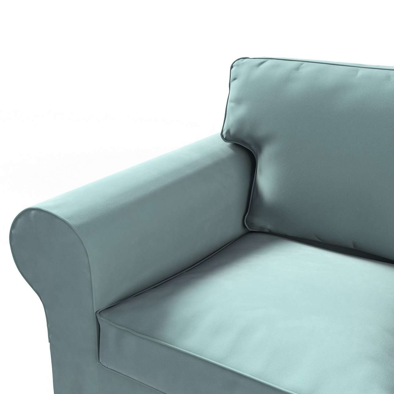 Ektorp betræk 2 sæder sovesofa gammel model<br/>Bredde ca 195cm fra kollektionen Velvet, Stof: 704-18