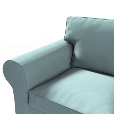 Ektorp 2-seater sofa bed cover (for model on sale in Ikea 2004-2011) 704-18 dusty mint green Collection Velvet