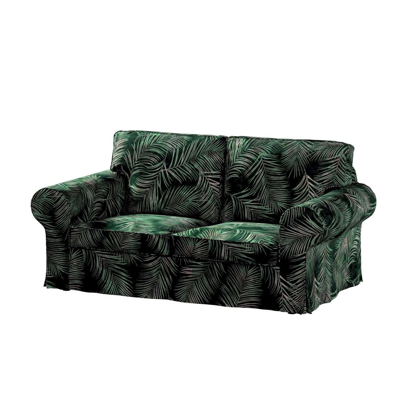 Pokrowiec na sofę Ektorp 2-osobową, rozkładaną, model do 2012 w kolekcji Velvet, tkanina: 704-21