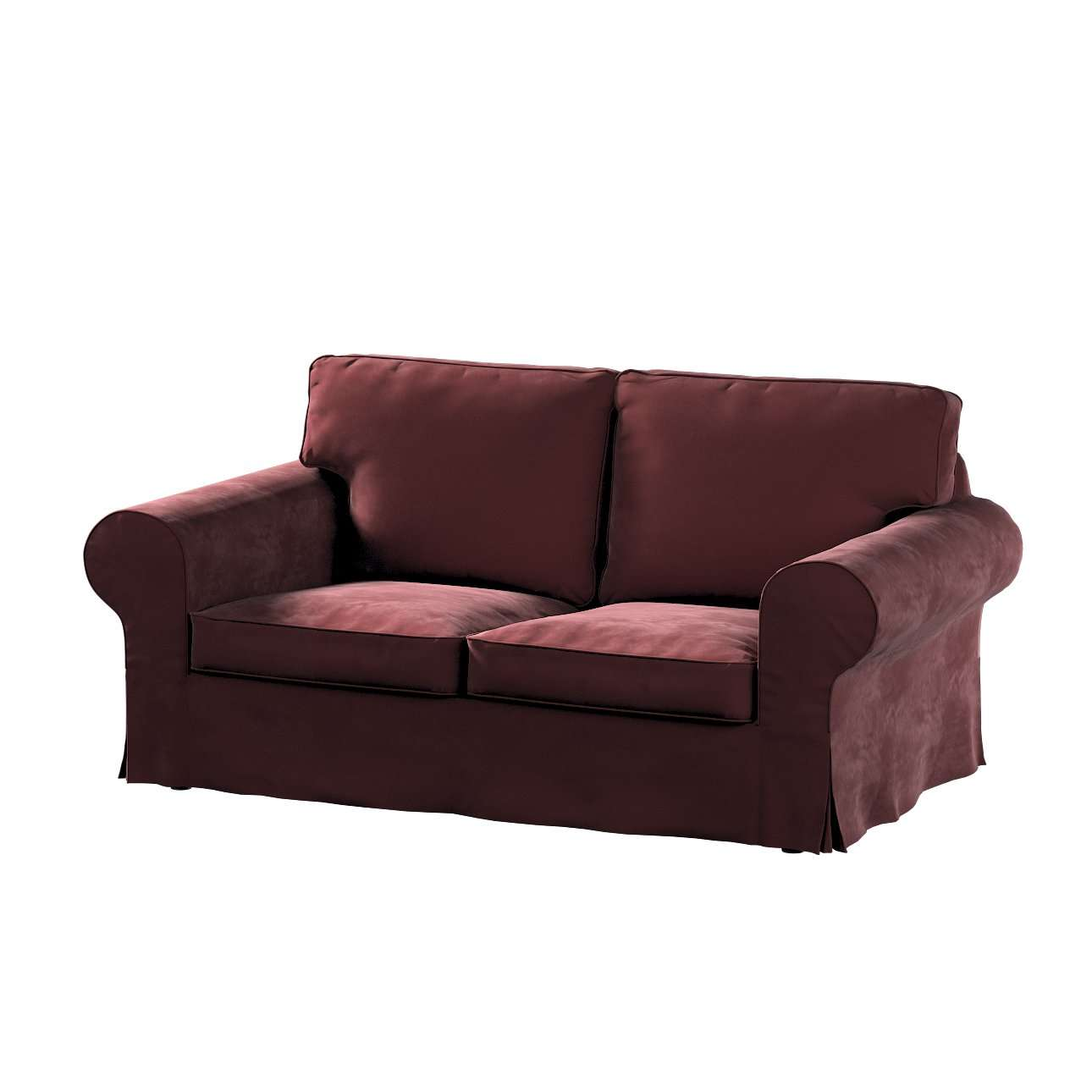 Pokrowiec na sofę Ektorp 2-osobową, rozkładaną, model do 2012 w kolekcji Velvet, tkanina: 704-26