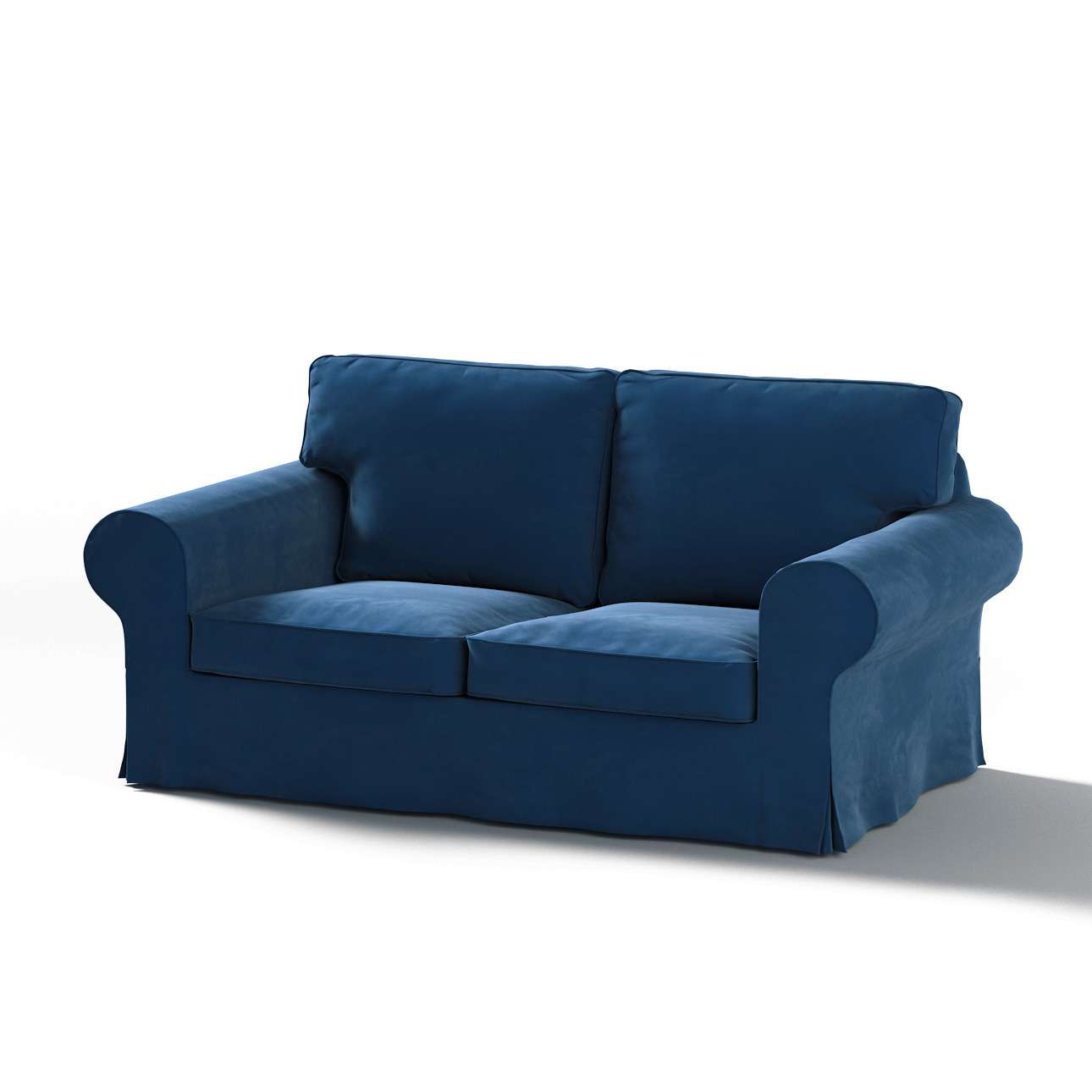 Pokrowiec na sofę Ektorp 2-osobową, rozkładaną, model do 2012 w kolekcji Velvet, tkanina: 704-29