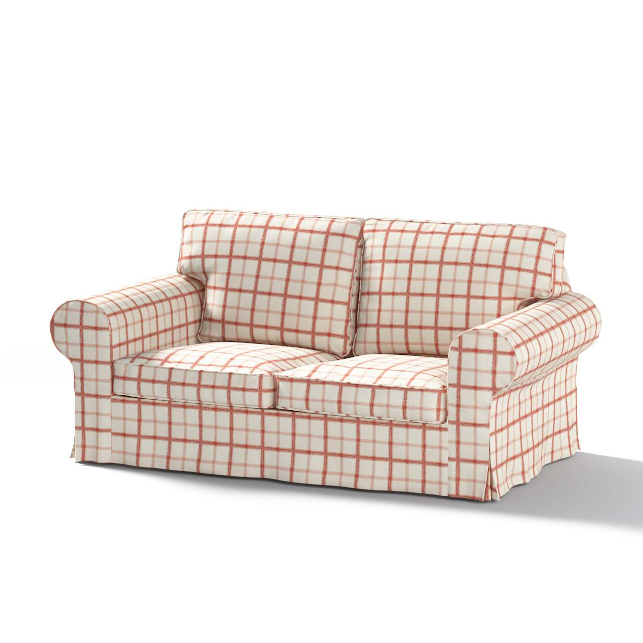Pokrowiec na sofę Ektorp 2-osobową, rozkładaną STARY MODEL Sofa Ektorp 2-osobowa rozkładana w kolekcji Avinon, tkanina: 131-15