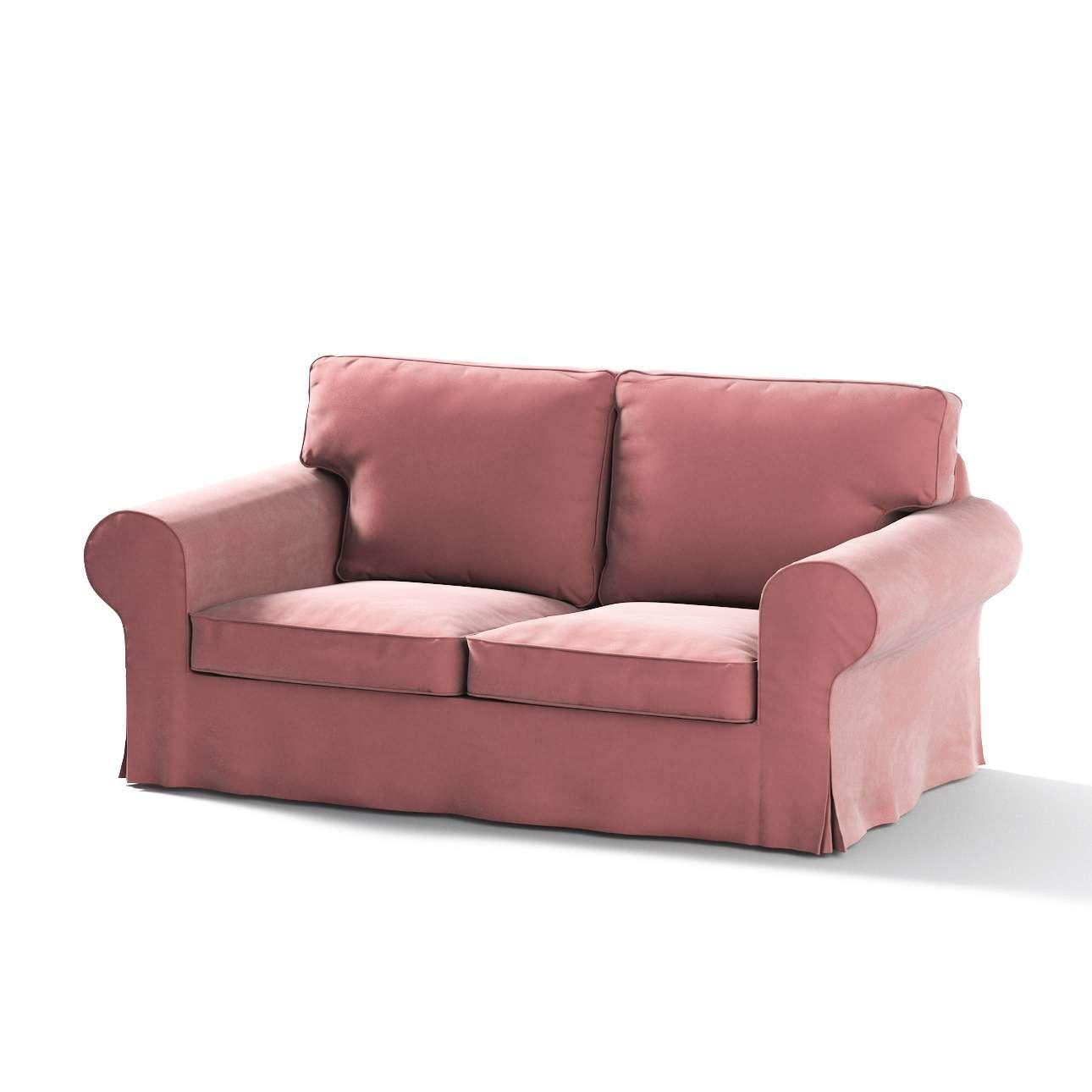 Pokrowiec na sofę Ektorp 2-osobową, rozkładaną, model do 2012 w kolekcji Velvet, tkanina: 704-30
