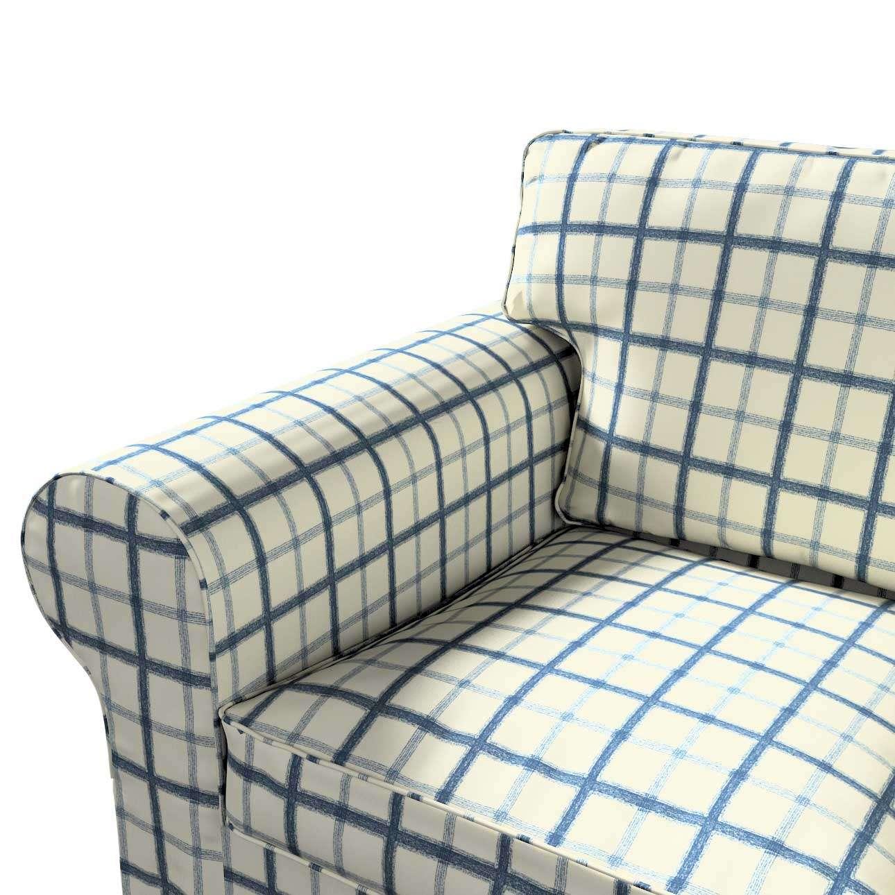 Ektorp betræk 2 sæder sovesofa gammel model<br/>Bredde ca 195cm fra kollektionen Avinon, Stof: 131-66
