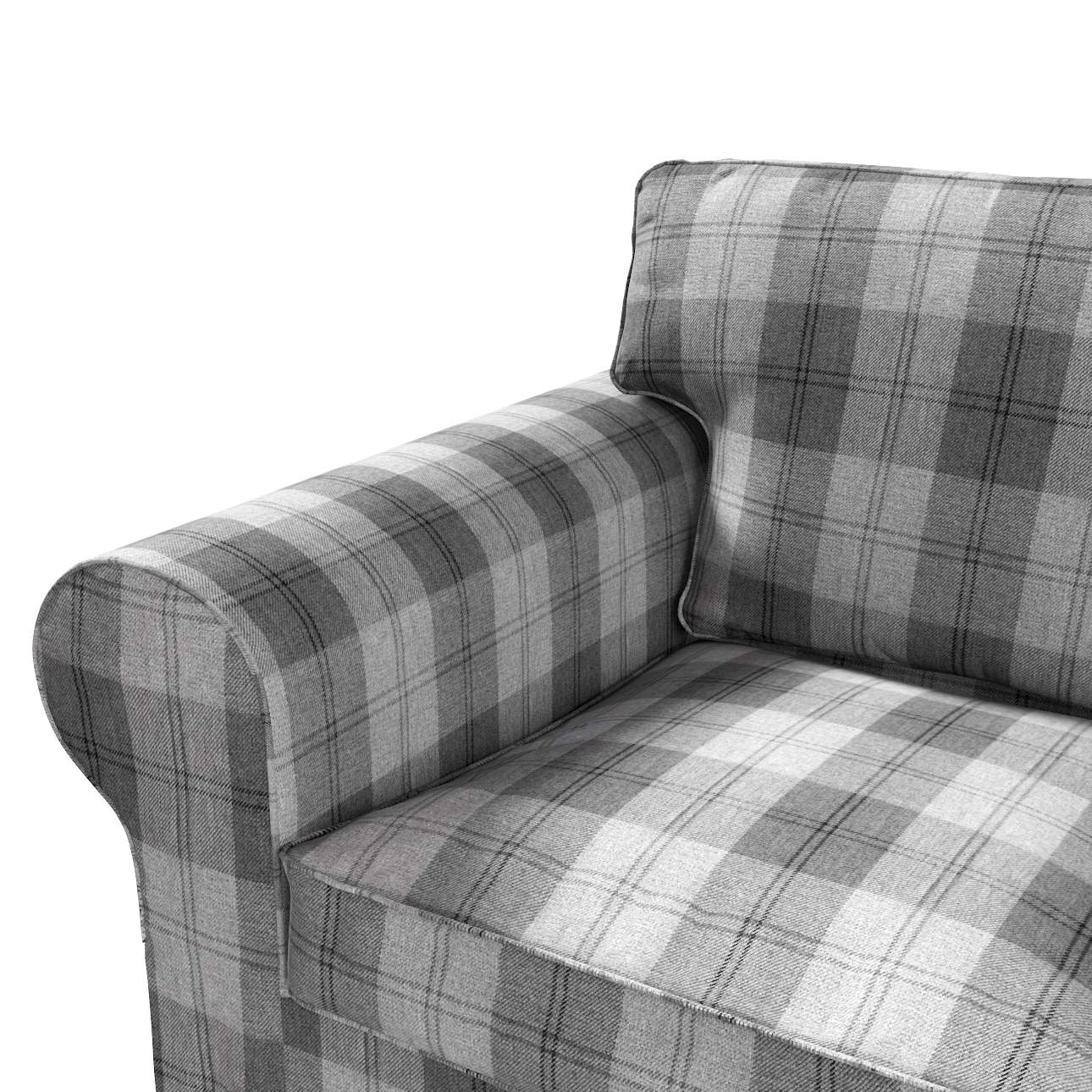 Pokrowiec na sofę Ektorp 2-osobową, rozkładaną, model do 2012 w kolekcji Edinburgh, tkanina: 115-75