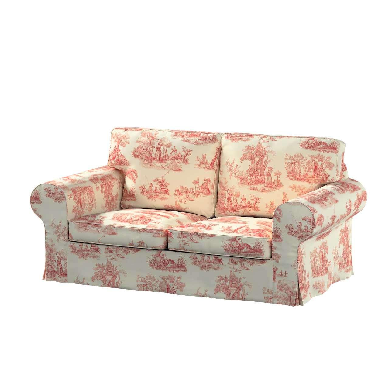 Pokrowiec na sofę Ektorp 2-osobową, rozkładaną STARY MODEL Sofa Ektorp 2-osobowa rozkładana w kolekcji Avinon, tkanina: 132-15