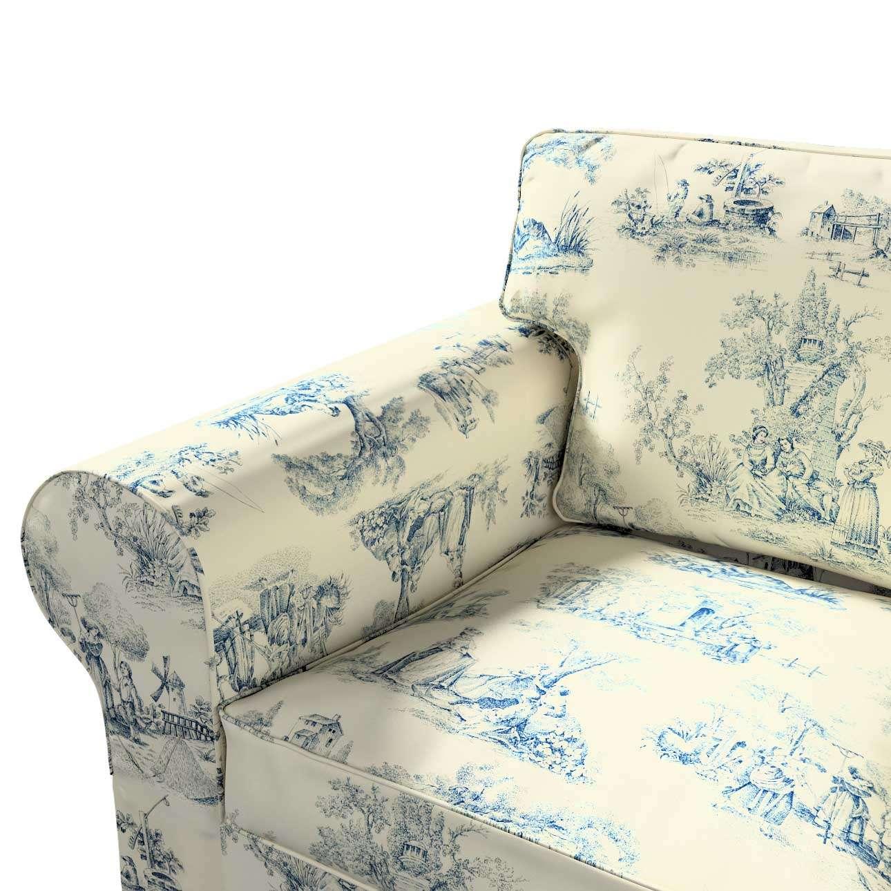 Ektorp 2 sæder sovesofa gammel model<br/>Bredde ca 195cm Betræk uden sofa fra kollektionen Avinon, Stof: 132-66