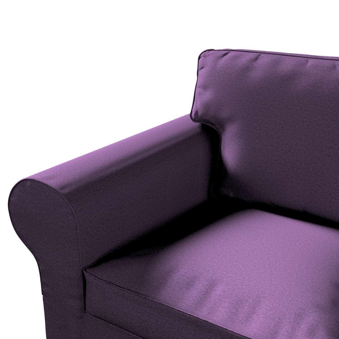 Pokrowiec na sofę Ektorp 2-osobową, rozkładaną, model do 2012 w kolekcji Etna, tkanina: 161-27