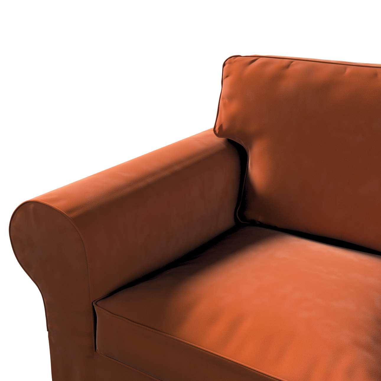 Pokrowiec na sofę Ektorp 2-osobową, rozkładaną, model do 2012 w kolekcji Velvet, tkanina: 704-33