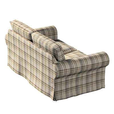 Ektorp 2-seater sofa bed cover (for model on sale in Ikea 2004-2011) 703-17 brawn-beige tartan Collection Edinburgh
