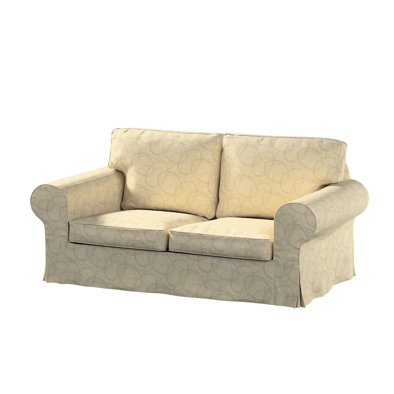 Pokrowiec na sofę Ektorp 2-osobową, rozkładaną, model do 2012 w kolekcji Living, tkanina: 161-81