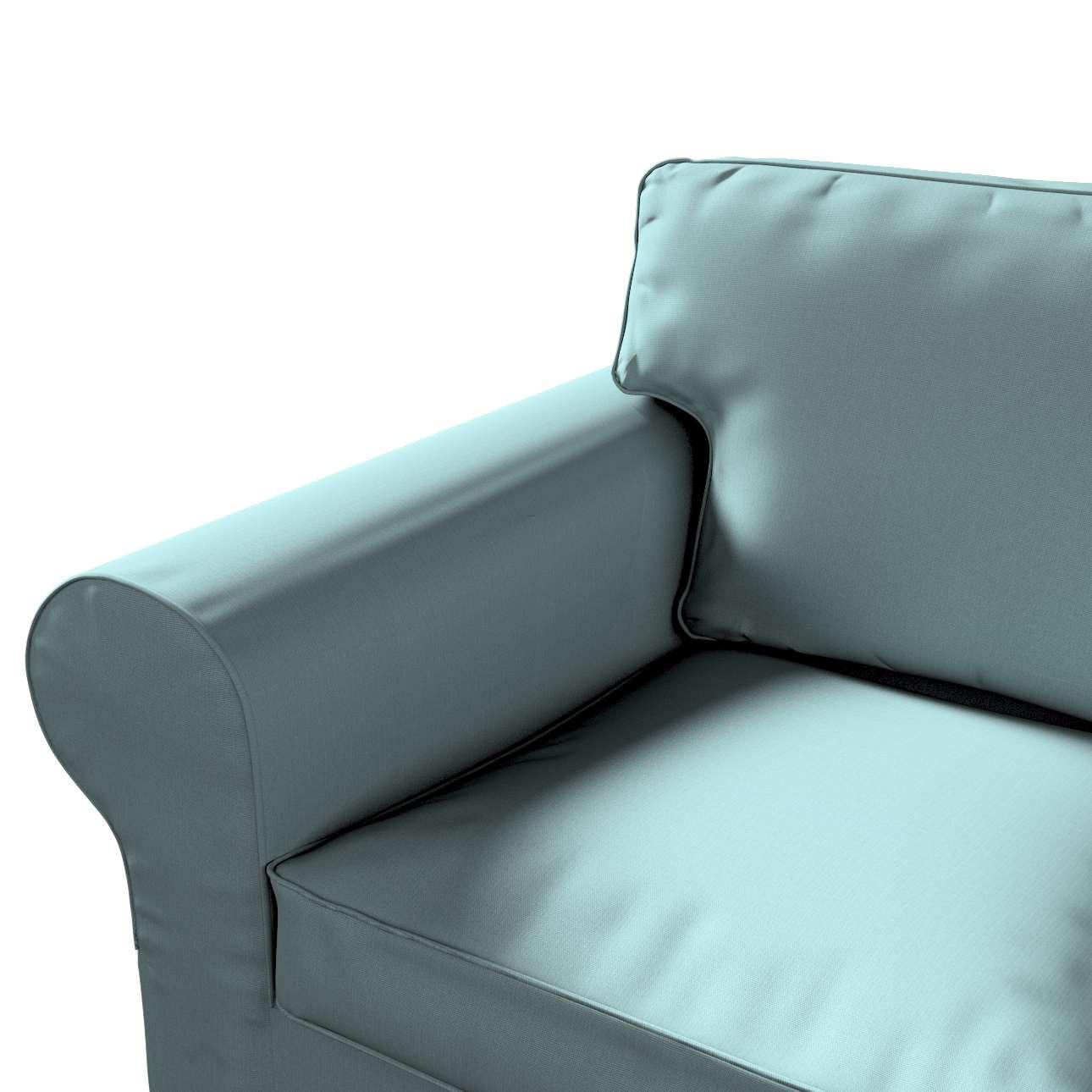 Pokrowiec na sofę Ektorp 2-osobową, rozkładaną, model do 2012 w kolekcji Cotton Panama, tkanina: 702-40