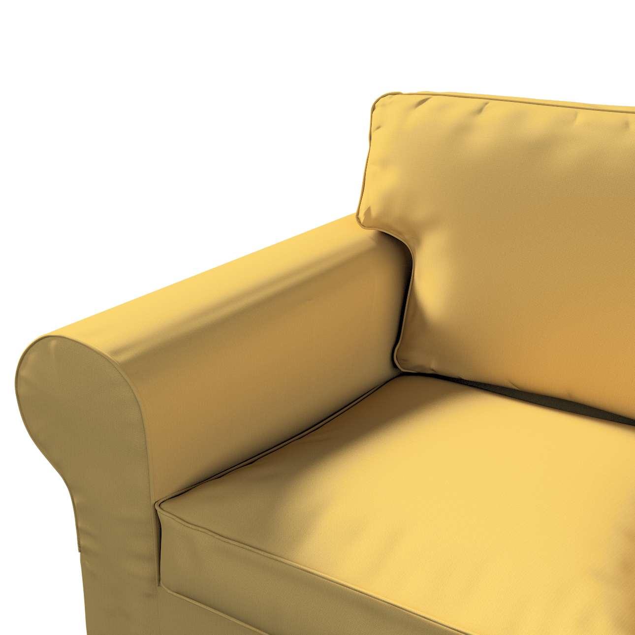 Pokrowiec na sofę Ektorp 2-osobową, rozkładaną, model do 2012 w kolekcji Cotton Panama, tkanina: 702-41