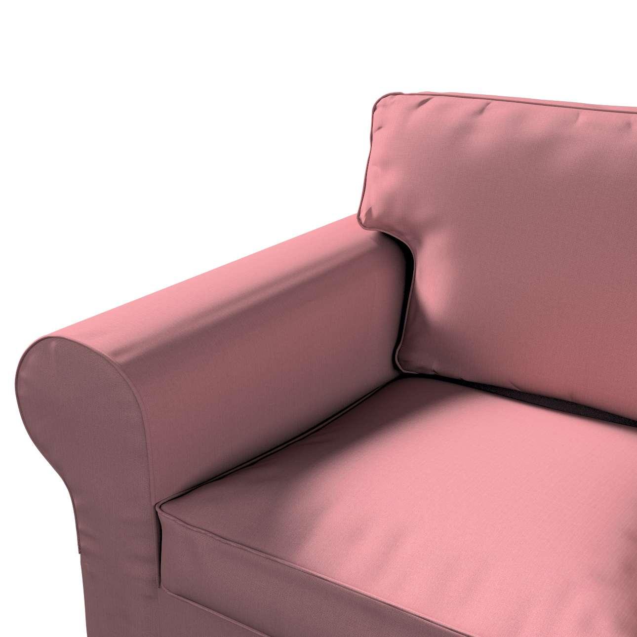 Pokrowiec na sofę Ektorp 2-osobową, rozkładaną, model do 2012 w kolekcji Cotton Panama, tkanina: 702-43