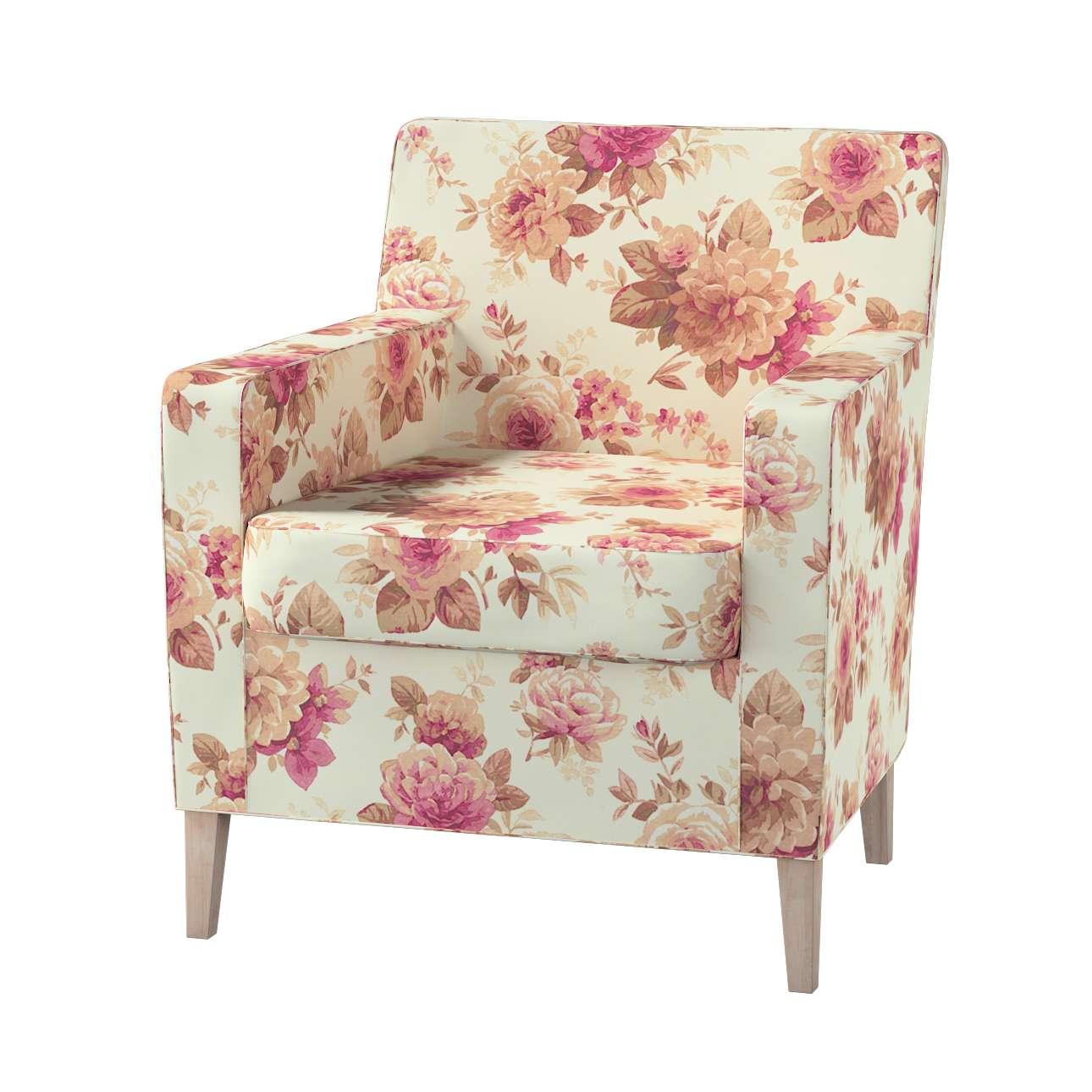 Karlstad fotelio-kėdės užvalkalas kolekcijoje Mirella, audinys: 141-06