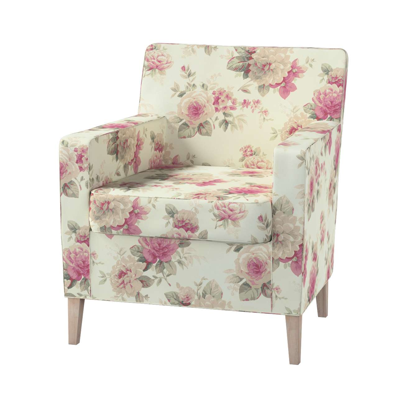 Pokrowiec na fotel Karlstad Fotel  Karlstad w kolekcji Mirella, tkanina: 141-07