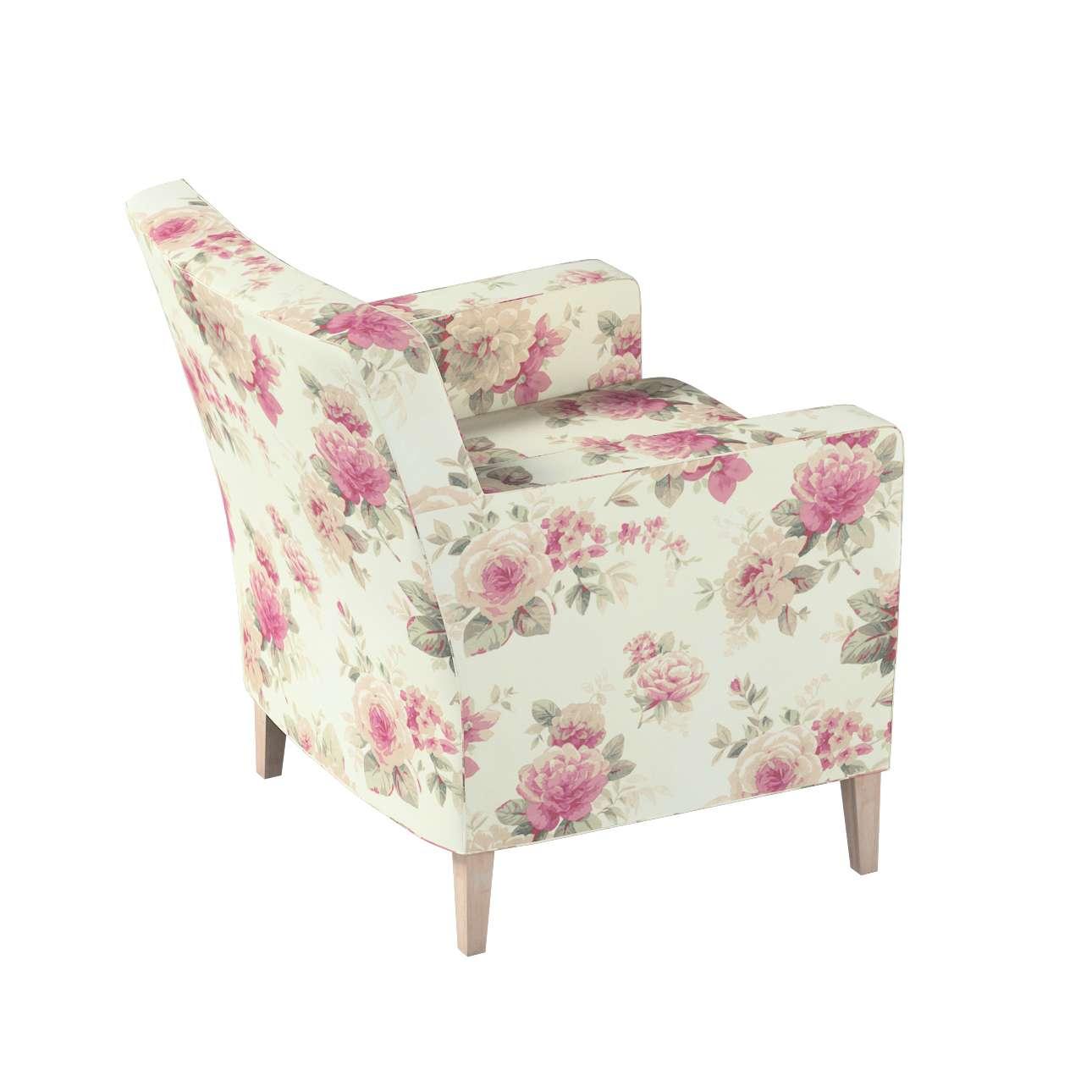 Karlstad fotelio-kėdės užvalkalas kolekcijoje Mirella, audinys: 141-07