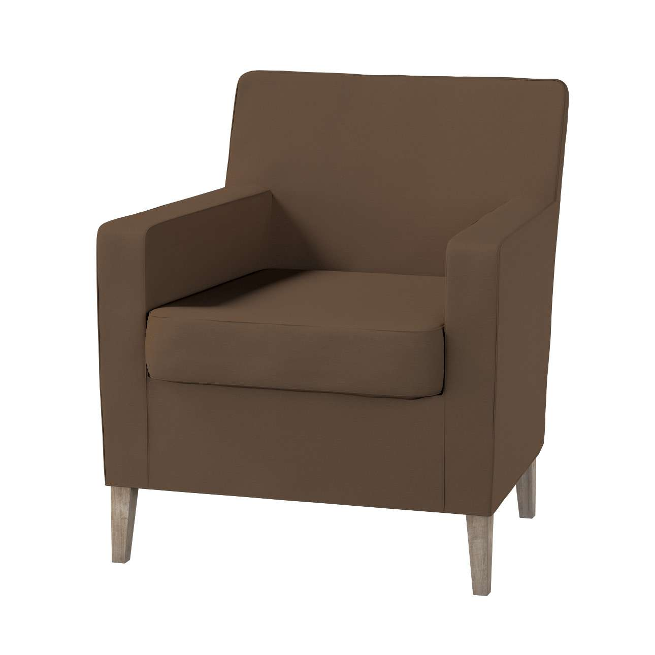 Karlstad tall chair cover Karlstad armchair cover in collection Cotton Panama, fabric: 702-02