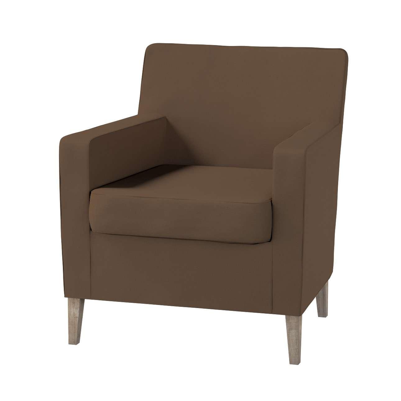 Pokrowiec na fotel Karlstad Fotel  Karlstad w kolekcji Cotton Panama, tkanina: 702-02