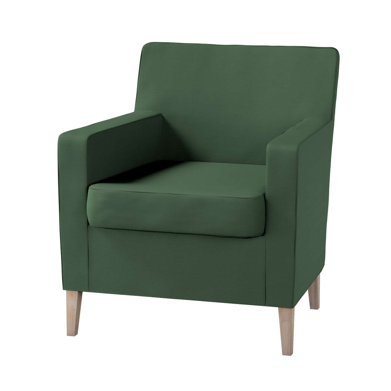 Pokrowiec na fotel Karlstad Fotel  Karlstad w kolekcji Cotton Panama, tkanina: 702-06
