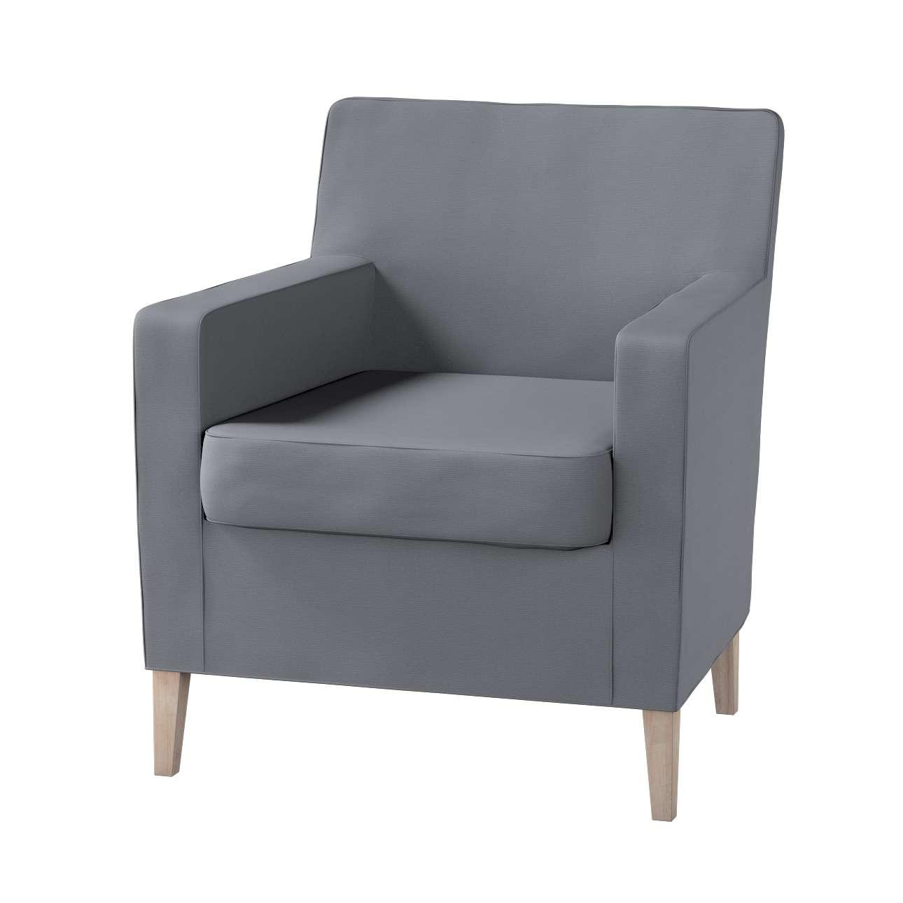Karlstad fotelio-kėdės užvalkalas Karlstad fotelio - kėdės užvalkalas kolekcijoje Cotton Panama, audinys: 702-07