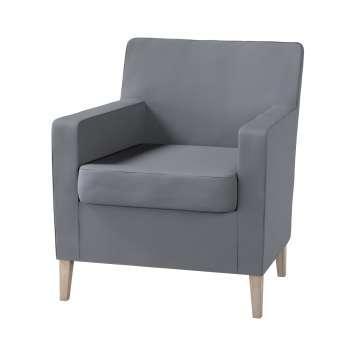 Pokrowiec na fotel Karlstad w kolekcji Cotton Panama, tkanina: 702-07