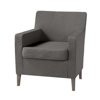 Karlstad tall chair cover Karlstad armchair cover in collection Edinburgh, fabric: 115-77