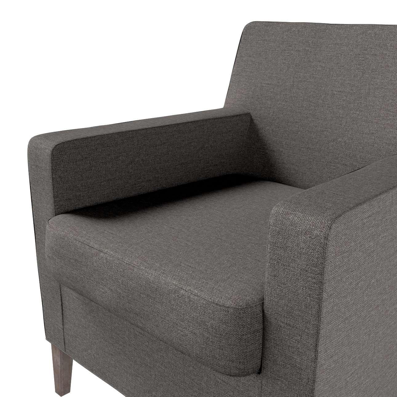 Pokrowiec na fotel Karlstad w kolekcji Edinburgh, tkanina: 115-77