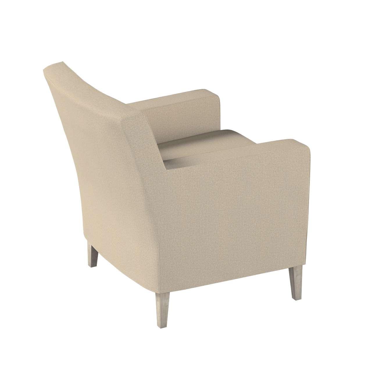 Pokrowiec na fotel Karlstad w kolekcji Edinburgh, tkanina: 115-78