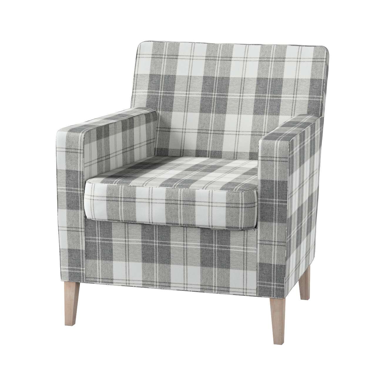 Karlstad fotelio-kėdės užvalkalas Karlstad fotelio - kėdės užvalkalas kolekcijoje Edinburgh , audinys: 115-79