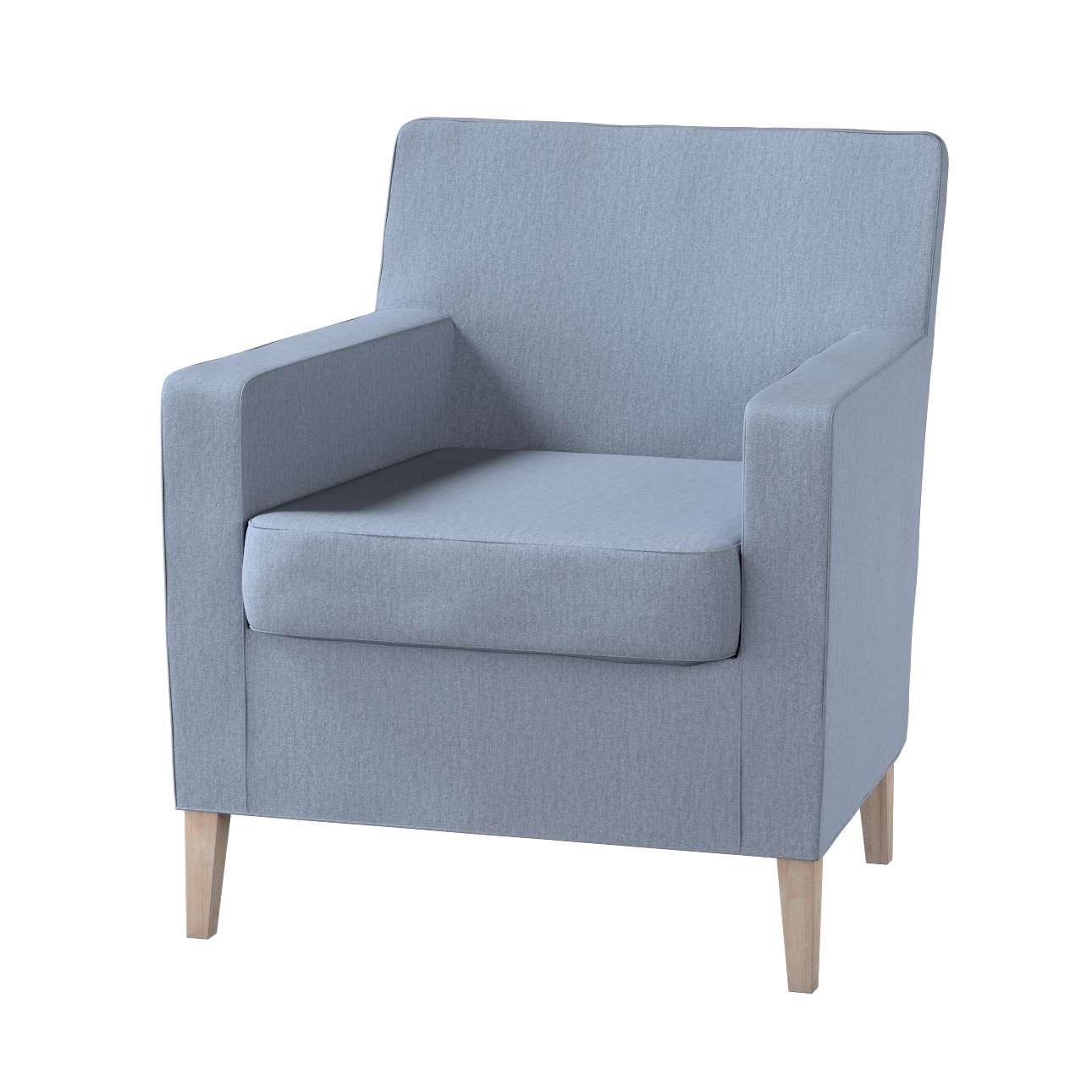 Karlstad  fotel huzat (magasított háttámálás) a kollekcióból CHENILLE Bútorszövet, Dekoranyag: 702-13