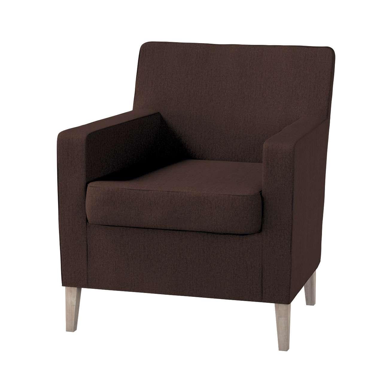 Karlstad betræk lænestol, høj fra kollektionen Chenille, Stof: 702-18