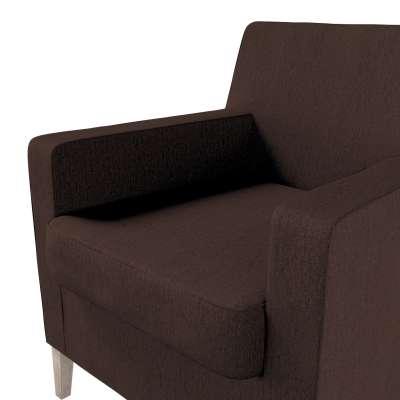 Pokrowiec na fotel Karlstad w kolekcji Chenille, tkanina: 702-18