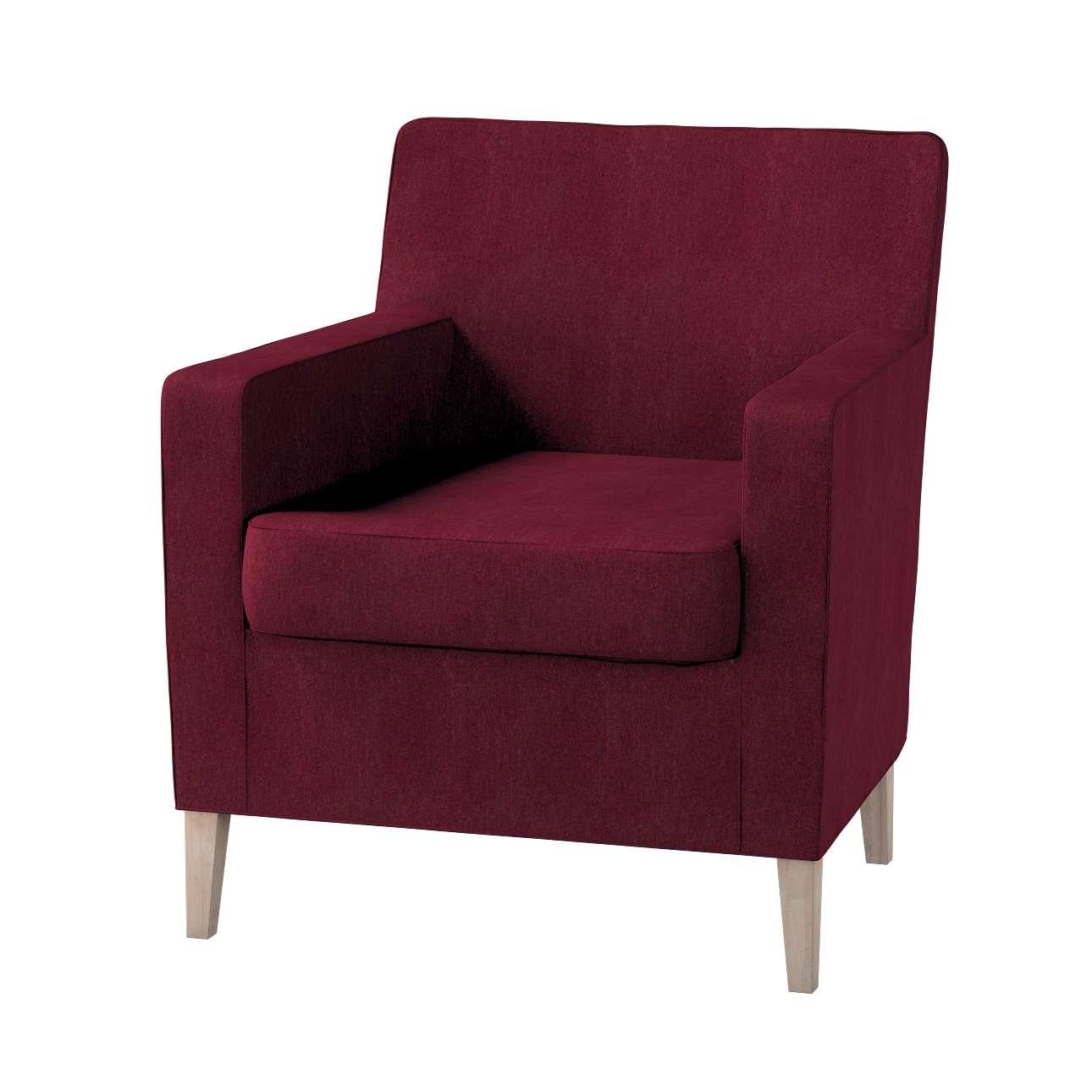 Pokrowiec na fotel Karlstad Fotel  Karlstad w kolekcji Chenille, tkanina: 702-19