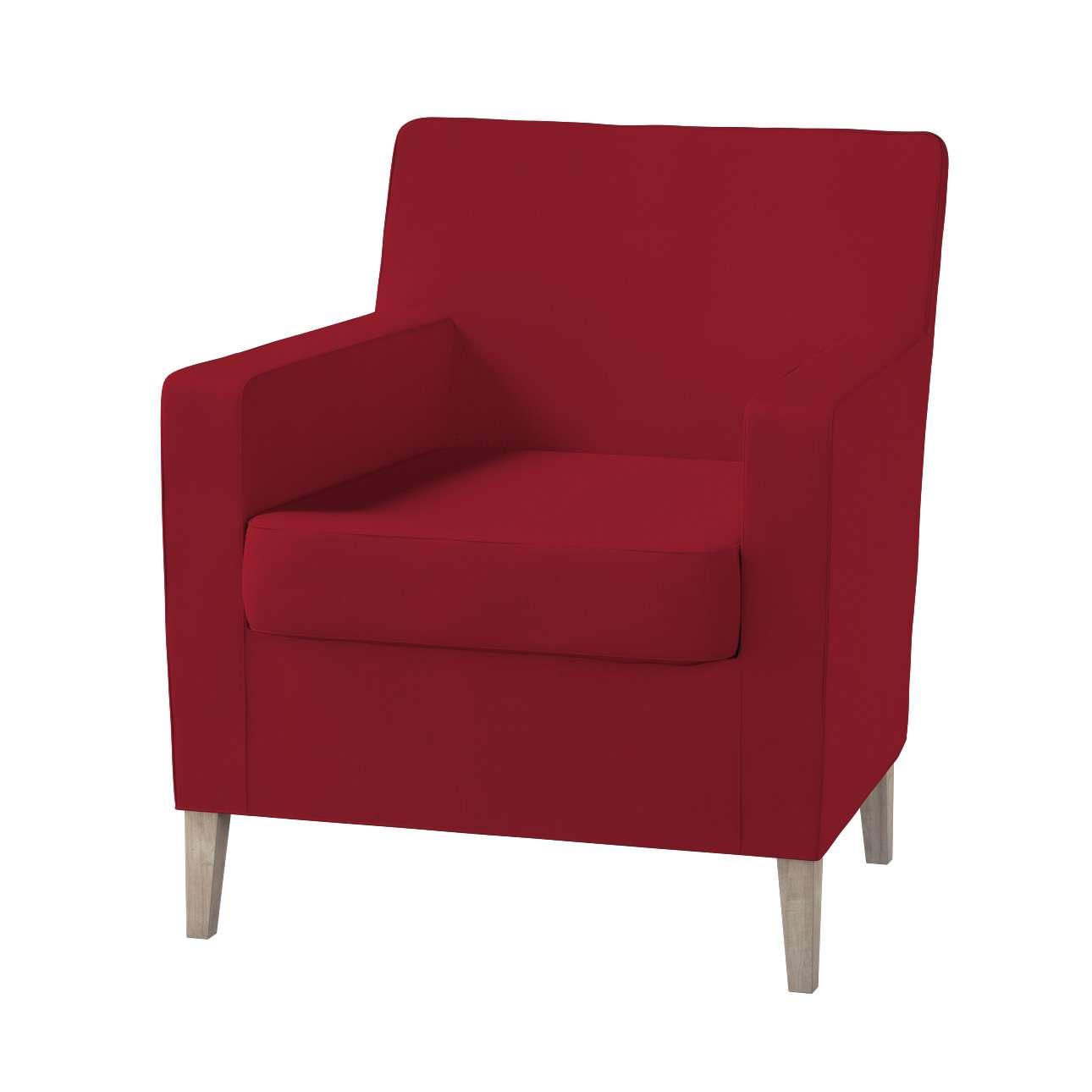 Pokrowiec na fotel Karlstad Fotel  Karlstad w kolekcji Chenille, tkanina: 702-24