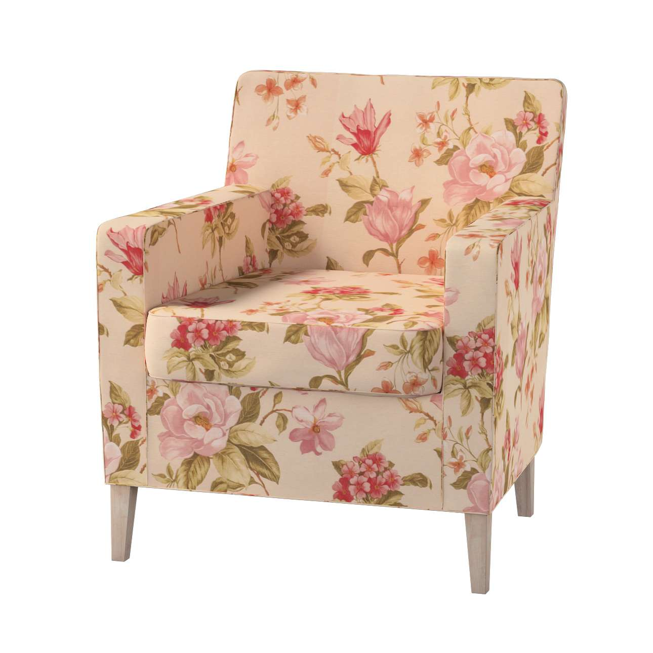 Karlstad fotelio-kėdės užvalkalas Karlstad fotelio - kėdės užvalkalas kolekcijoje Londres, audinys: 123-05