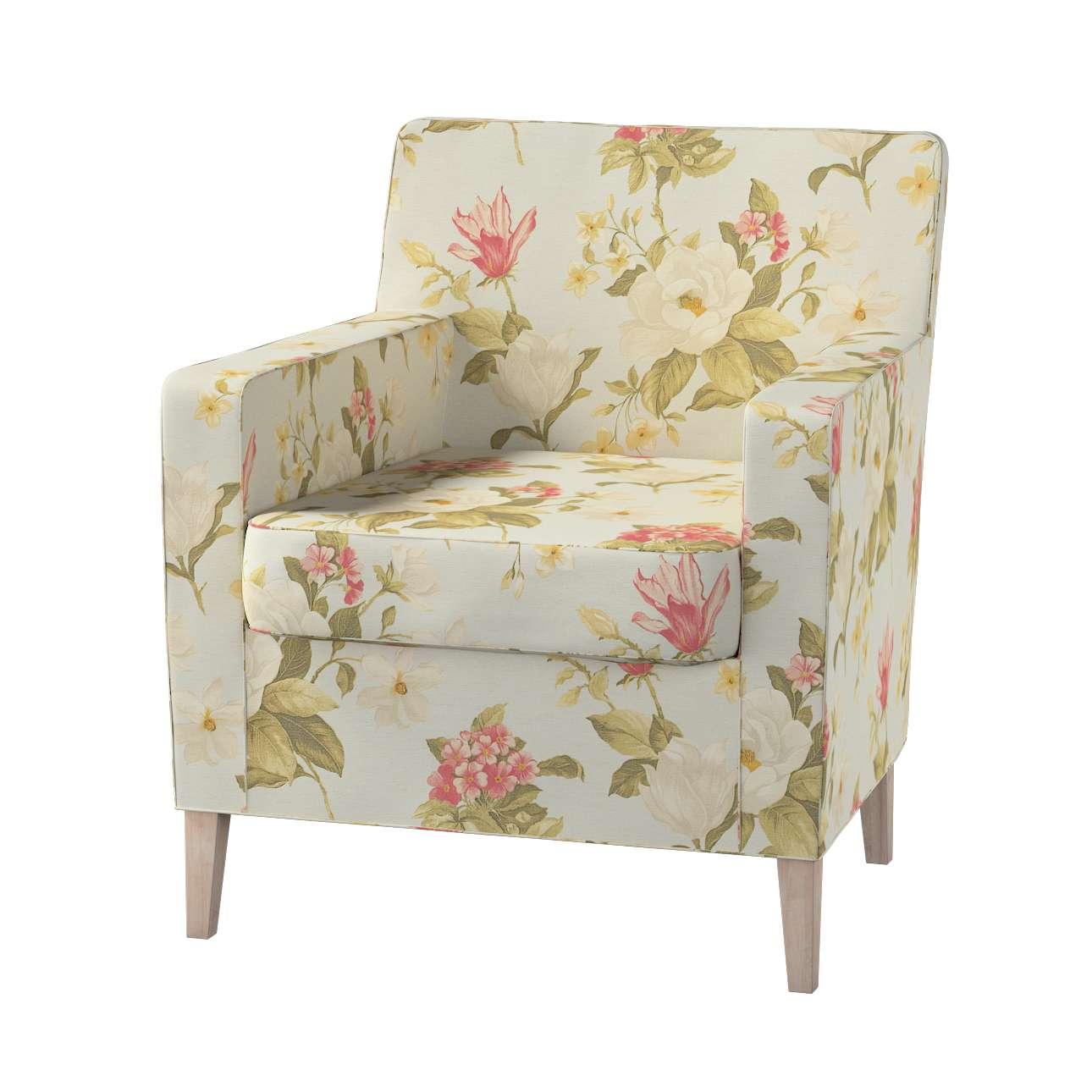 Pokrowiec na fotel Karlstad Fotel  Karlstad w kolekcji Londres, tkanina: 123-65