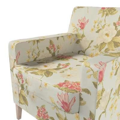 Pokrowiec na fotel Karlstad w kolekcji Londres, tkanina: 123-65
