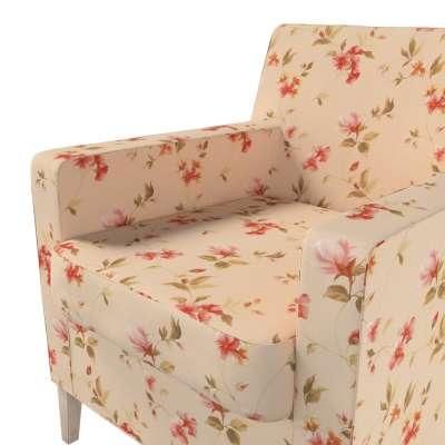 Pokrowiec na fotel Karlstad w kolekcji Londres, tkanina: 124-05