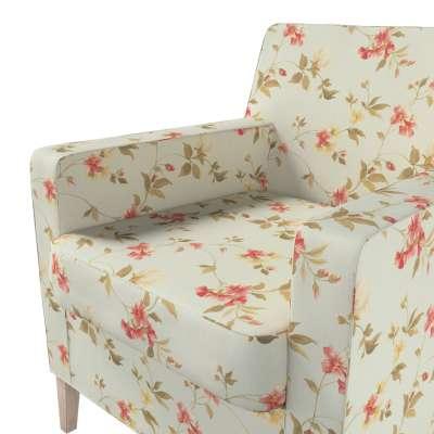 Pokrowiec na fotel Karlstad w kolekcji Londres, tkanina: 124-65